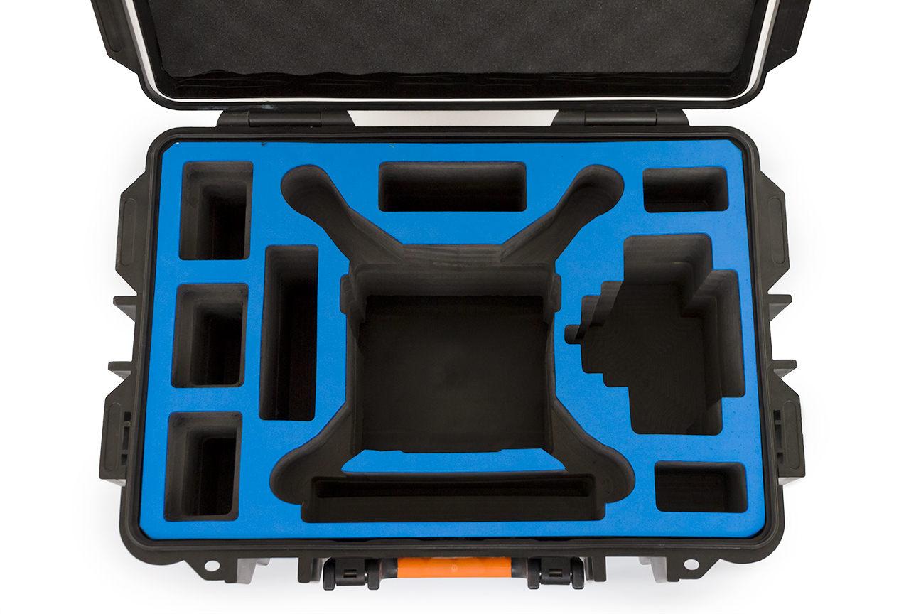 Phantom用 防水ハードケース ブラック&オレンジ